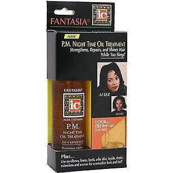 Fantasia IC P.M Night Time Oil Treatment 118ml with free cap