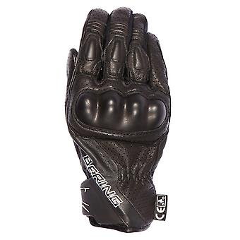 Bering Black Raven Motorcycle Leather Gloves