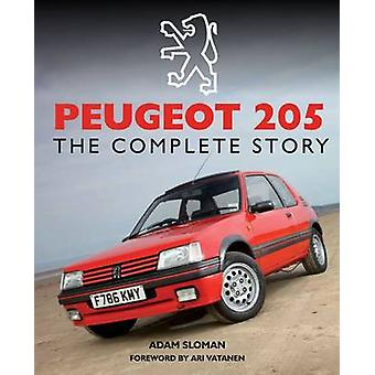 Peugeot 205 - la historia completa por Adam Sloman - libro 9781847978677