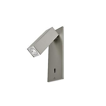 Satin Nickel Recessed Led Reading Lamp