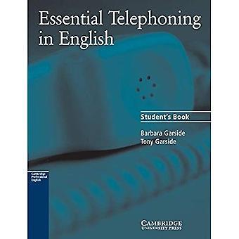 Essentiële Telephoning in Engelse Student's boek (Cambridge professionele Engels) (Cambridge professionele Engels) [Student Edition]