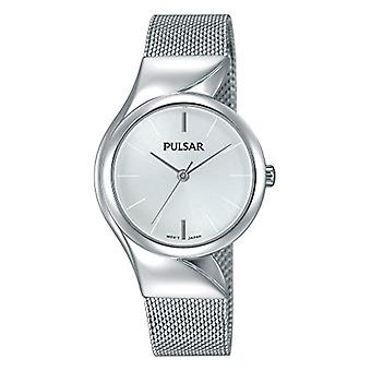 Pulsar ladies analogue watch with metal plated stainless steel PH8229X1