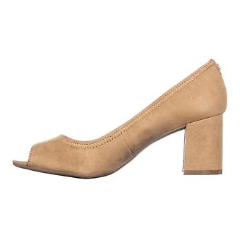 Anne Klein Womens Meredith Leather Open Toe Classic Pumps