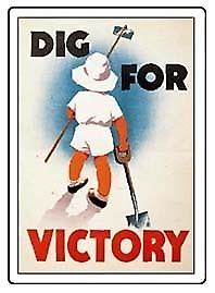 Dig for Victory Fridge Magnet