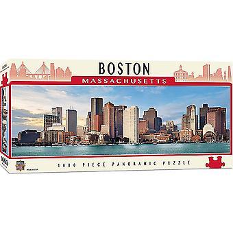 Boston Massachusetts 1000 piece panoramic jigsaw puzzle 990mm x 330mm (mpc)
