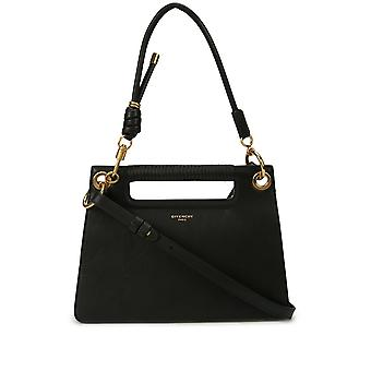 Givenchy Whip Black Leather Shoulder Bag