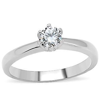 """Präglade med """"alltid i mitt hjärta"""" - Ah! ENSTENSRING i rostfritt stål smycken"""