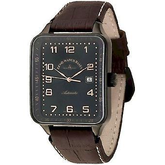 Reloj Zeno-watch SQ especial Retro automático negro 124-bk-f1