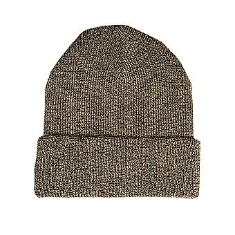 Womens Vero Moda Glama Beanie Hat In Gold