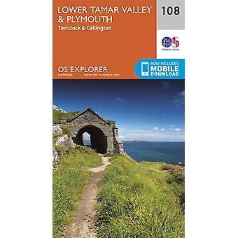 Lower Tamar Valley and Plymouth (September 2015 ed) by Ordnance Surve