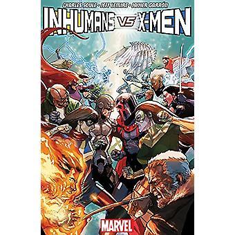 Inhumans Vs. X-men by Jeff Lemire - 9781846538162 Book