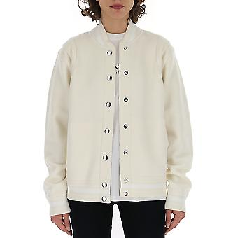 Givenchy White Nylon Outerwear Jacket