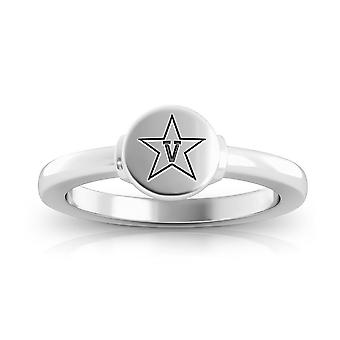 Vanderbilt University-Commodores logo graveret signet ring