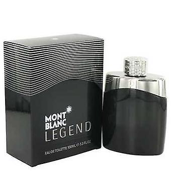 Montblanc legende door Mont Blanc Eau de Toilette Spray 3,4 oz (mannen) V728-497589