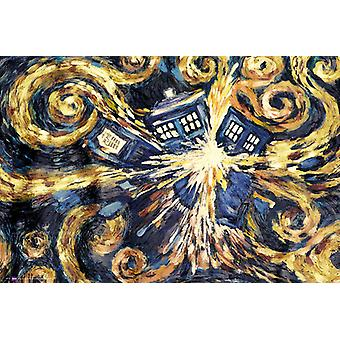 Doctor Who explodierende Tardis Maxi Poster 61x91.5cm