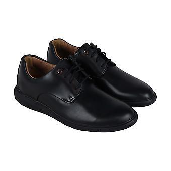 Clarks Un Voyageplain  Mens Black Comfort Casual Lace Up Oxfords Shoes
