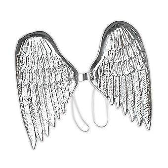 Bristol Novelty Silver Angel Wings