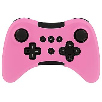 Silicone skin for nintendo wii u pro controller - pink
