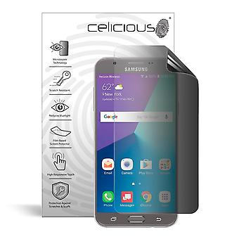 Celicious Privacy 2-Way Anti-Spy Filter Screen Protector Film Compatible with Samsung Galaxy J7 (2017)
