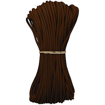 Parachute Cord 4Mm X 100' Dark Brown Para550 10004