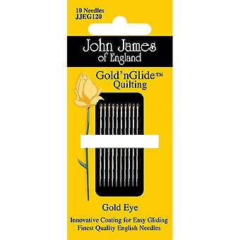 Gold'n Glide Quilting Needles  Size 10 10 Pkg Jjeg120 10