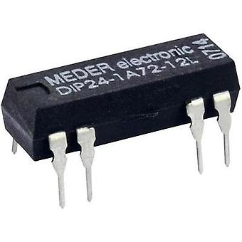Reed relay 1 maker 5 Vdc 1 A 10 W DIP 8