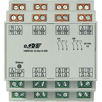 ENTRADA-salida de HomeMatic RS485 módulo 92011 DIN rail 24 W