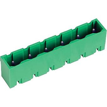Pin enclosure - PCB STLZ960 Total number of pins 7 PTR 50960075121D Contact spacing: 7.62 mm 1 pc(s)