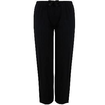 Black Plain Pyjama Bottoms