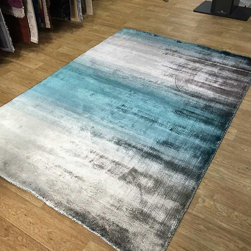 Rugs - Linie Grace - Aqua & Silver