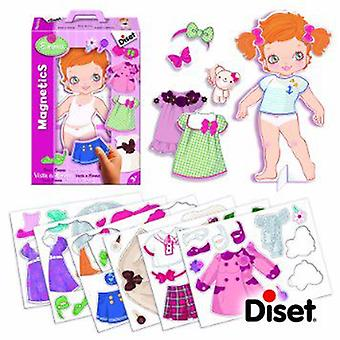 Diset Magnetics Dress Emma (Toys , Educative And Creative , Electronics)