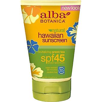 Alba Botanica Natural Hawaiian Green Tea Sunscreen SPF 45