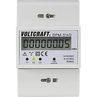 Electricity meter (3-phase) digital 100 A MID-approved: No VOLTCRAFT