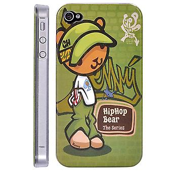 Benny Bjørn dekke hip-hop, i hard plast, for iPhone 4/4s