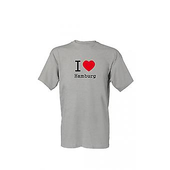 T-Shirt I Love Hamburg S-4XL