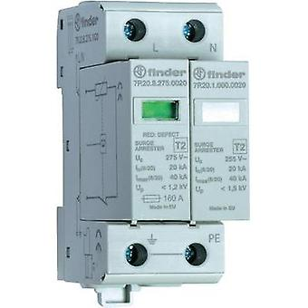 Finder 7P.22.8.275.1020 Surge Arrester, Surge Protection Device (SPD), Single-Phase