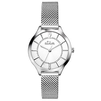 s.Oliver women's watch wristwatch stainless steel SO-3219-MQ