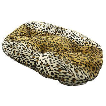 Luxe Cheetah quiltet madras 76cm (30