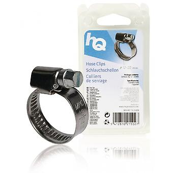 HQ Tube clips 12-22 mm