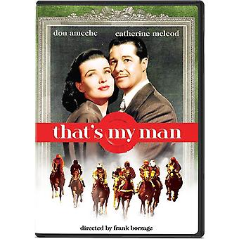That's My Man [DVD] USA import