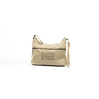 Napapijri crossover bag stains and studs small beige