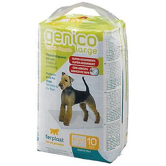 Ferplast Genico Absorb.pads (X10) (Dogs , Grooming & Wellbeing , Cleaning & Disinfection)