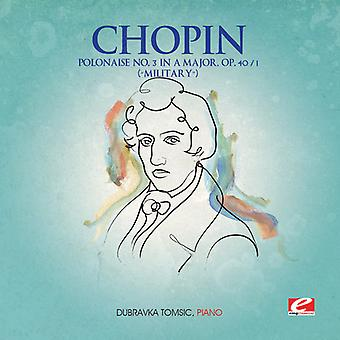 F. Chopin - Polonaise 3 a Major Op 40 1/Military [CD] USA import