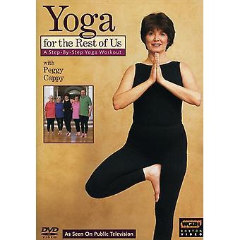 Yoga for resten af os: trin for trin træning [DVD] USA import