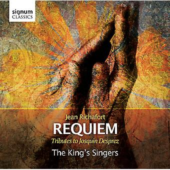 Kongens sangere - Jean Richafort: Requiem - hyldest til Josquin Desprez [CD] USA import