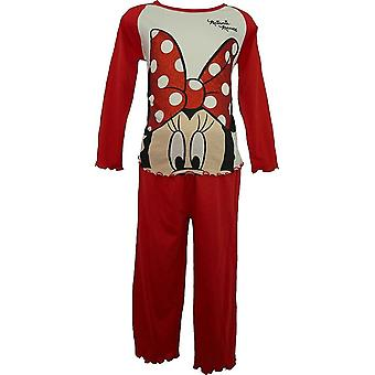 Girls Disney Minnie Mouse Long Sleeve Pyjamas HM2035