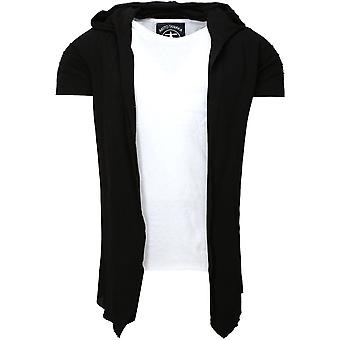 Akito Tanaka hooded STYLIST SWEAT black/white