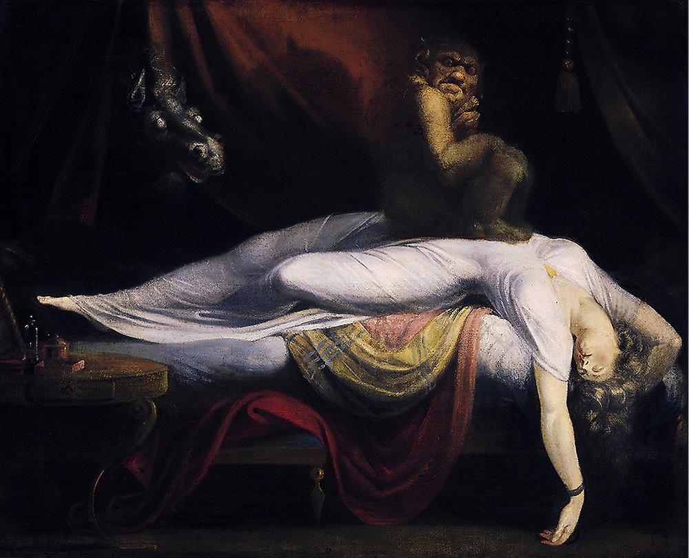 Henry Fuseli - The Nightmare Poster Print Giclee