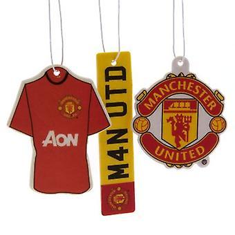 Освежитель воздуха 3pk «Манчестер Юнайтед»