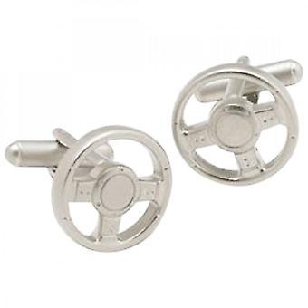 Onyx-Art Steering Wheel Cufflinks